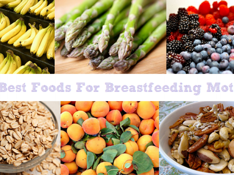 breastfeeding foods