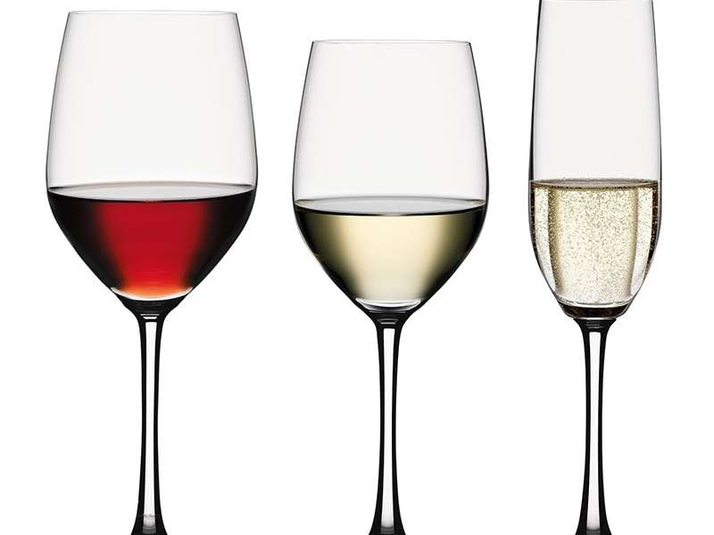 spiegelau vino grande bundle set of 12 4 white wine glasses 4 red wine glasses 4 champagne glasses 4519892